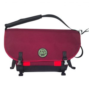 Medium Shoulder Bag Burgundy