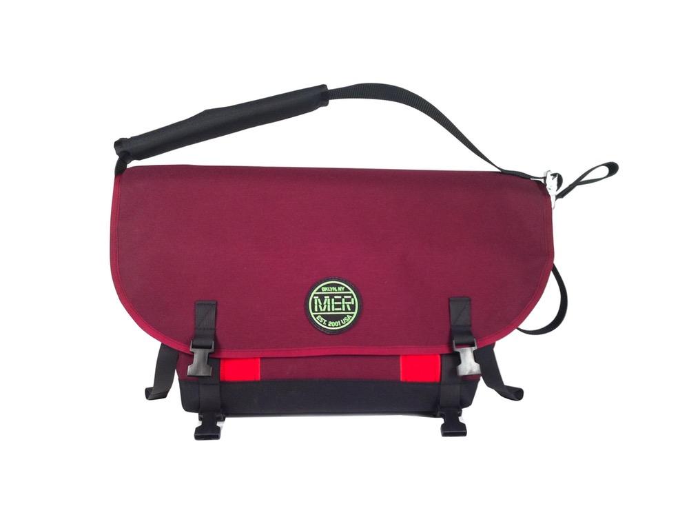 Medium Shoulder Bag Burgundy Mer Bags