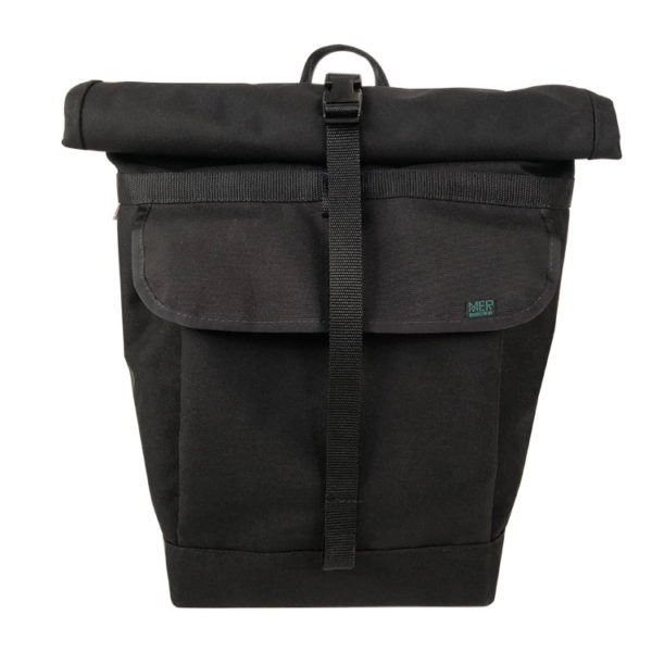 Small Basic Backpack rolltop (black)